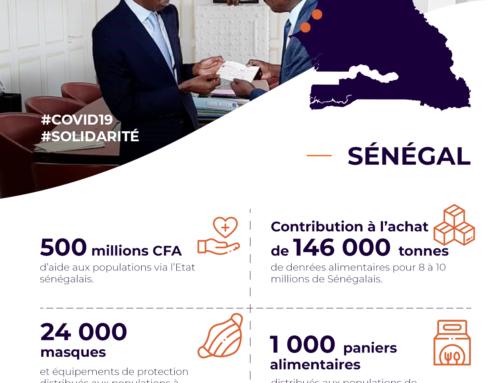 Covid-19 : le soutien fort de GCO au Sénégal