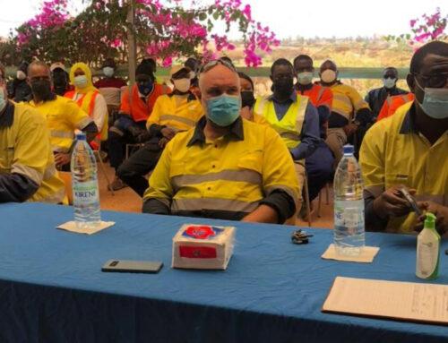 Célébration de la Journée mondiale de la sécurité et de la santé au travail à GCO