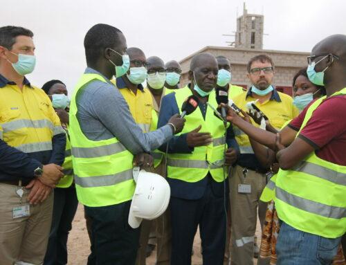 L'appréciation positive du ministre des mines lors de sa visite à GCO