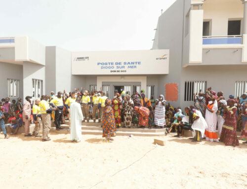 Communiqué de Presse – Inauguration du poste de santé construit par GCO à Diogo-Sur-Mer